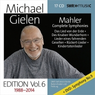 Complete Symphonies : Michael Gielen / SWR Symphony Orchestra +Lieder (17CD+DVD)