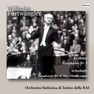 Brahms Symphony No.1, Schubert Symphony No.8 : Wilhelm Furtwangler / Turin RAI Symphony Orchestra (1952)
