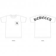 ポケットTシャツ 白(L)/ REBECCA LIVE TOUR 2017