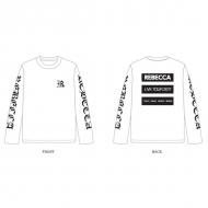 ロングスリーブTシャツ(L)/ REBECCA LIVE TOUR 2017