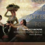 無伴奏ファゴットのための16のワルツ フランス・ベルクハウト