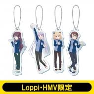 NEWGAME!! / クリアキーホルダー4個セット【Loppi・HMV限定】