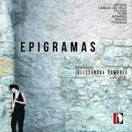 Alessandra Rombola : Epigramas -Contenporary Solo Flute Works