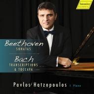 ベートーヴェン:ピアノ・ソナタ第14番『月光』、第23番『熱情』、バッハ:『主よ、人の望みの喜びよ』ケンプ編曲版、他 パヴロス・ハッツォプロス