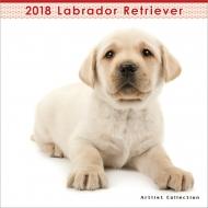 (ミニ)ラブラドール・レトリーバー / 2018年カレンダー
