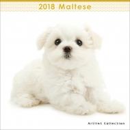 (ミニ)マルチーズ / 2018年カレンダー