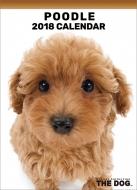 プードル / 2018年卓上カレンダー