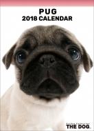 パグ / 2018年卓上カレンダー