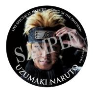 缶バッジ(うずまきナルト)/ ライブ・スペクタクル「NARUTO-ナルト-」〜暁の調べ〜