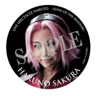 缶バッジ(春野サクラ)/ ライブ・スペクタクル「NARUTO-ナルト-」〜暁の調べ〜