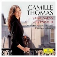 サン=サーンス:チェロ協奏曲第1番、オッフェンバック:ホフマンの舟歌、他 カミーユ・トマ、ブロック&リール国立管弦楽団、ネマニャ・ラドゥロヴィチ、他