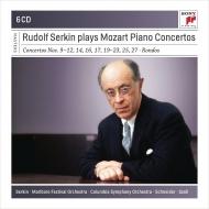 Piano Concertos, Etc : Rudolf Serkin(P)A.Schneider / Szell / Casals / (6CD)