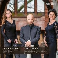 String Trios Nos.1, 2, Piano Quartet No.2 : Trio Lirico, Eisinger(P)