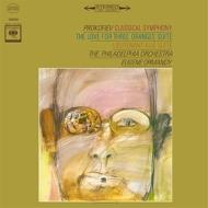 3つのオレンジへの恋、キージェ中尉:ユージン・オーマンディ指揮&フィラデルフィア管弦楽団 (180グラム重量盤レコード/Speakers Corner)