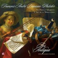フィリドール(1726-1795)/Parisian Quartets: E.wallfisch(Vn) Ars Antiqua