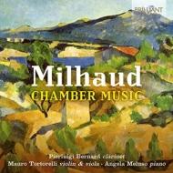 Chamber Works: P.bernard(Cl)Tortorelli(Vn, Va)Meluso(P)