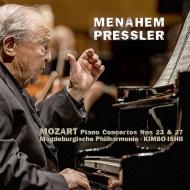 Piano Concertos Nos.23, 27 : Menahem Pressler(P)Kimbo Ishii / Magdeburg Philharmonic