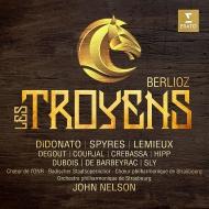 『トロイアの人々』全曲 ジョン・ネルソン&ストラスブール・フィル、ジョイス・ディドナート、マイケル・スパイレス、他(2017 ステレオ)(4CD+DVD)