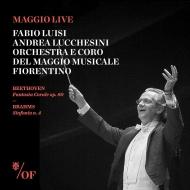 ブラームス:交響曲第4番、ベートーヴェン:合唱幻想曲 ファビオ・ルイージ&フィレンツェ五月祭管弦楽団、アンドレア・ルケシーニ、他