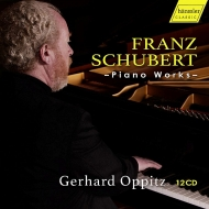 ピアノ・ソナタ全集、さすらい人幻想曲、楽興の時、即興曲集、他 ゲルハルト・オピッツ(12CD)