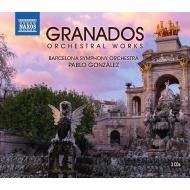管弦楽作品集 パブロ・ゴンザレス&バルセロナ交響楽団(3CD)