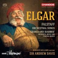 交響的習作『ファルスタッフ』、管弦楽伴奏付き歌曲集 アンドルー・デイヴィス&BBCフィル、ロデリック・ウィリアムズ