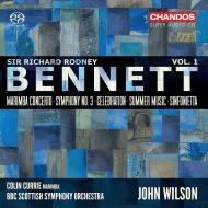 交響曲第3番、マリンバ協奏曲、シンフォニエッタ、セレブレーション、他 ジョン・ウィルソン&BBCスコティッシュ交響楽団、コリン・カリー