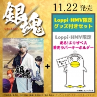 【Loppi・HMV限定】銀魂 DVD プレミアム・エディション(初回仕様/2枚組)「光る!エリザベス 蓄光ラバーキーホルダー」付き