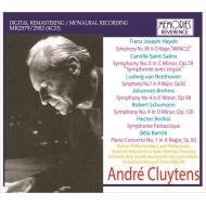 アンドレ・クリュイタンス/ベルリオーズ:幻想交響曲(チェコ・フィル)、サン=サーンス:オルガン付き(ベルリン・フィル)、ベートーヴェン、他(1952-58)(4CD)
