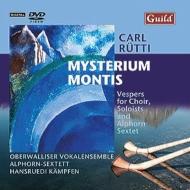 合唱、独唱とアルプ・ホルン六重奏のための晩祷『ミステリウム・モンティス』 オペルヴァリサー・ヴォーカル・アンサンブル、アルプ・ホルン六重奏団