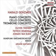 ピアノ協奏曲第1番、チェロ協奏曲、トロンボーン協奏曲 オリヴァー・トリンドル、パトリック・デメンガ、イェルゲン・ファン・リエン、マティアク&ベルリン放送響
