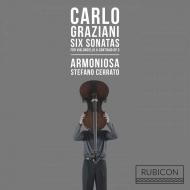 チェロと通奏低音のための6つのソナタ ステファノ・チェッラート、アルモニオーザ(2CD)