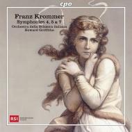 交響曲第4番、第5番、第7番 ハワード・グリフィス&スイス・イタリア語放送管弦楽団