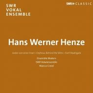 ヘンツェ(1926-2012)/Lieder Von Einer Insel-choral Works: Creed / Swr Vokalensemble Stuttgart Ensemble Mo