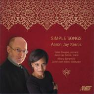 Simple Songs, Valentines, 2 Songs: Trevigne D.a.miller / Albany So A.j.kernis(P)