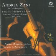 Violin Sonatas Op, 5, : Rognoni(Vn)Ensemble L'aura Soave