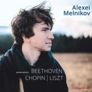 ベートーヴェン:ピアノ・ソナタ第23番『熱情』、リスト:ピアノ・ソナタ、他 アレクセイ・メルニコフ