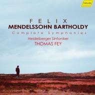 交響曲全集、弦楽のための交響曲全集 トーマス・ファイ&ハイデルベルク交響楽団(6CD)