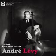 無伴奏チェロ組曲第2番、6番 / アンドレ・レヴィ 【完全限定プレス】(モノラル/180グラム重量盤アナログレコード)