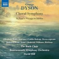合唱交響曲、聖パウルのメリタへの旅 デイヴィッド・ヒル&ボーンマス交響楽団、バッハ合唱団