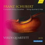 Verdi Quartet Schubert Complete String Quartets & String Quintet D.956【『最安値8CD』】ヴェルディ弦楽四重奏団 シューベルト弦楽四重奏曲全集 弦楽五重奏曲 D.956 Amazon激安CD ヤフオク情報