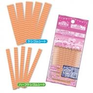オリケシ 専用素材 単色ケシゴムシート 薄オレンジ色