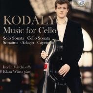 Sonata For Cello Solo, Cello Sonata, Etc: Vardai(Vc)Wurtz(P)