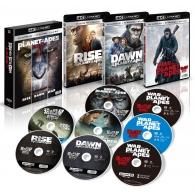 猿の惑星 トリロジーBOX <4K ULTRA HD+3D+2Dブルーレイ/8枚組>