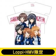 Tシャツ(あんこうチーム)/ ガールズ&パンツァー最終章【Loppi・HMV限定】