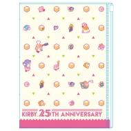 星のカービィ 25周年ポケットカバーノート (モノグラム)