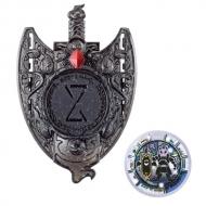 妖怪ウォッチ秘宝妖怪エンブレム&カセキメダルセット08 ドエスカリバー