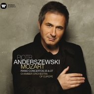 Piano Concertos Nos.25, 27 : Piotr Anderszewsk(P)/ Chamber Orchestra of Europe