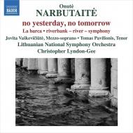 『昨日はない、明日はない』『小舟』『海岸線のシンフォニー』 クリストファー・リンドン=ギー&リトアニア国立交響楽団