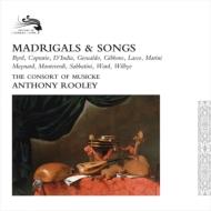 マドリガルと歌曲集 アントニー・ルーリー&コンソート・オブ・ミュージック(16CD)